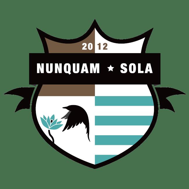 Schild_NunquamSola